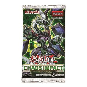Yu-Gi-Oh TCG Chaos Impact Booster Pack (9 Cards)