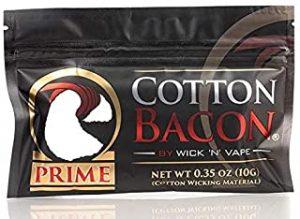 WICK'N'VAPE ORGANIC COTTON BACON PRIME