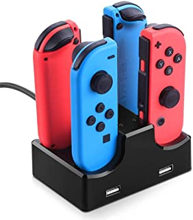 Controller Charging Dock Stand for Nintendo Switch Joy-Con Charging Dock