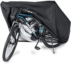 SKEIDO Waterproof Bike Cover Heavy Duty Oxford Bicycle Cover with Double stitching & Heat Sealed Seams