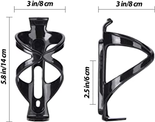 ORiTi Bike Water Bottle Cage of Lightweight Strong Aluminium Alloy Perfect Holder for Road Mountain and BMX Bicycles