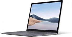 Microsoft Surface Laptop 4 Super-Thin 13.5 Inch Touchscreen Laptop (Platinum) – 6x Cores AMD Ryzen 5 with Radeon Graphics (Microsoft Surface Edition) 8 GB RAM