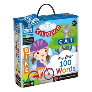 Kidslove Life Skills My First 100 Words Learning Set
