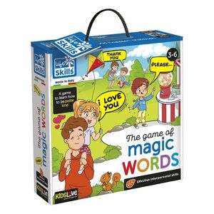 Kidslove Life Skills The Game Of Magic Words Learning Set