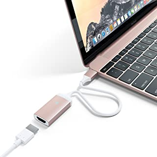 SATECHI Aluminum Type-C HDMI Adapter 4K (60Hz) for 2016/2017 MacBook Pro