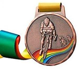6 Pack Bronze Medals