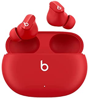 beats Studio Buds True Wireless Noise Cancelling Earphones Active Noise Cancelling IPX4 rating Sweat Resistant Earbuds Compatible with Apple & Android Class 1 Bluetooth Built in Microphone beats Red