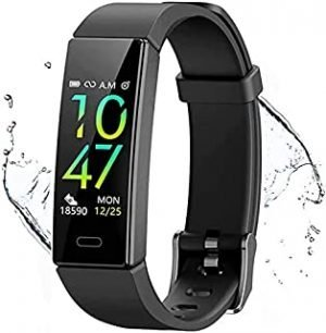 Qniceone Fitness Tracker with Blood Pressure Heart Rate Sleep Monitor