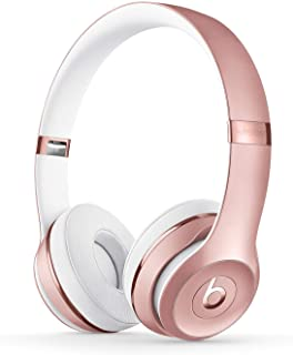 beats Solo3 Wireless Headphones Rose Gold